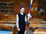 12-летний вологодский школьник Влад Сивков изготовил олимпийский посох