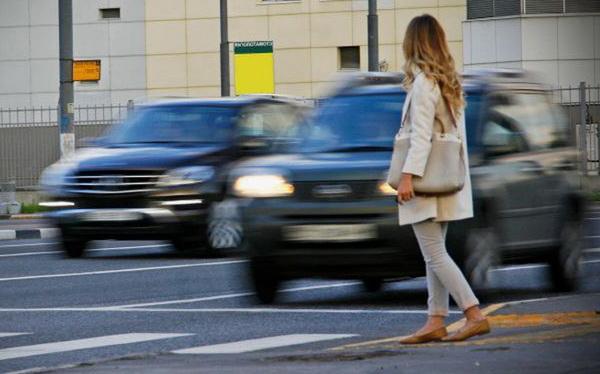 Водители, не пропустившие пешехода, будут платить больше